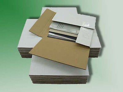 200 - Variable Depth 45 Rpm Record Album Mailer Boxes - Free Shipping