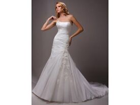Wedding bridal dress Maggie Sottero Couture Cameron size 8-10