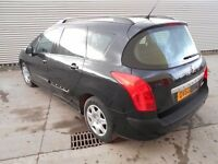 2010 Peugeot 308 1.6 Hdi S Estate 90 BHP - DAMAGED REPAIRABLE SALVAGE