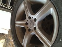 Rims with tires for Honda Pilot/Ridgeline