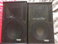 NEXO PS8 Speakers - Pair