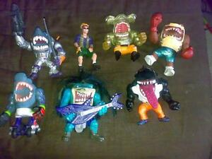 WANTED Street Sharks 90's Toys/Figures