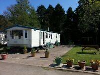 Deluxe three bedroom caravan to let three nights £150