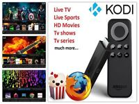 Amazon Fire tv with kodi installed
