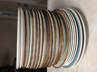 20 Small Plates/Saucers