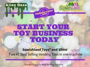 Americas #1 Sqwishland/Slime Toy Business - Own a Route, Now!