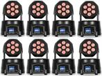 Party Light 8x 56W RGBW LED Movinghead Wash effect DMX