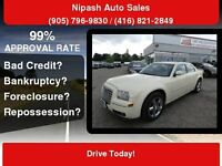 2009 CHRYSLER 300,SUNROOF,Certify 3 YEATS P-T WARRANTY AVAILABLE