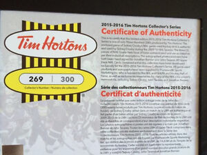 Tim Hortons UD 2015-16 Limited Ed Collectors Series Book Kitchener / Waterloo Kitchener Area image 1
