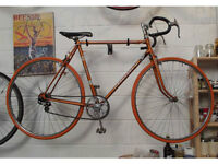 Vintage bike PEUGEOT frame 23in / 59cm - serviced NEW TYRES BRAKE PEDALS CABLES WARRANTY Welcome