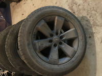 P275/55R20 Scorpion Pirelli Set of 4 tires and rims for sale