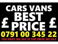☎️Ø791ØØ34522 CASH FOR CARS VANS BIKES BUY YOUR SELL MY SCRAP FAST LONDON ESSEX KENT CALL O
