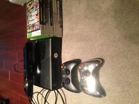 250gb Xbox 360 with Kinect and two controllers