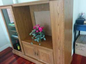 TV ENTERTAINMENT UNIT/DISPLAY UNIT WITH WHEELS