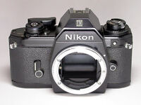 Nikon EM 35mm Camera with f4.5 70-210mm zoom lens
