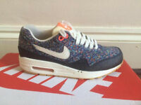 Nike X Liberty of London air max 1 pixel pack, size 3.5.