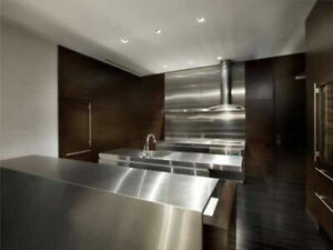 TRENDY STAINLESS STEEL COUNTER TOP