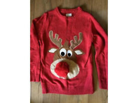 NEXT XMAS JUMPER AGE 10