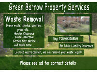Garden Waste Rubbish Removal Collection, End of Tenancy Waste Removal | Garden Clearance