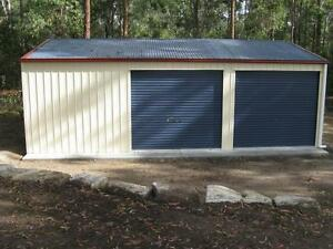 SHEDS 9X6X2.4 GARAGES COLORBOND SHEDS GARAGES SHED BARN BRISBANE Brisbane City Brisbane North West Preview