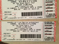 Spectacle One Direction