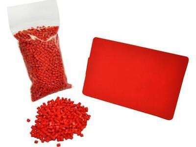 RED Color Pure Concentrate Plastic Pellets LEGLO 100:2 5 LBS DELRIN 500