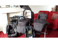 Mamas and Papas Isofix Ultima 9 in 1 in Balmain - with buggy board