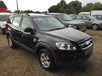 2009 Chevrolet Captiva 2.0 VCDi LS 5dr FSH + AUG 2017 MOT + ONLY 49K