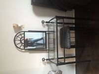 Vanity Table and Stool For Sale