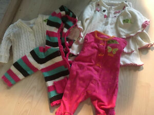 3-6 month girls' lot
