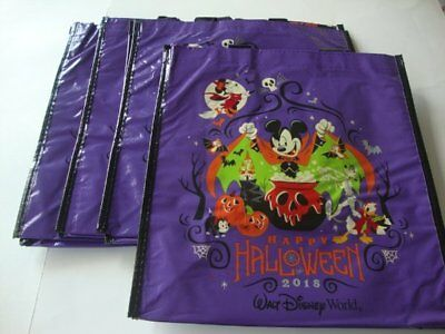 Disney Parks Halloween 2018 I Vant Candy Trick or Treat Purple Bag Bags x 4 NEW - Disney Park Halloween Treats