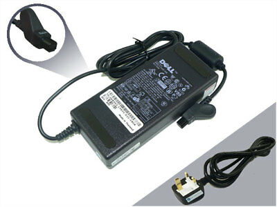 - New Genuine Dell Inspiron 5000e 7500 8000 8100 Laptop AC Adapter Charger PSU