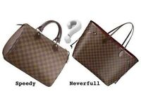 100% Genuine Authentic BRAND NEW Louis Vuittons Bag - Speedy 30 and Neverfull GM