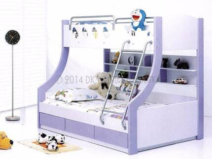 **SOLD** Celeste Double Bunk Bed (Mattresses not included)