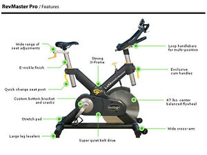 Lemond Revmaster Spin Exercise Bike (Pro Gym Equipmen)