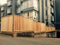 WOOD FENCE INSTALLATION
