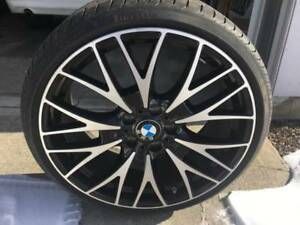 BMW Cross spoke 404 wheels +TIRE PIRELLI RUN FLAT 225-30-R20,