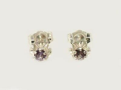 Color Change Alexandrite Earrings Russian Natural Tanzanian Purple to Pink