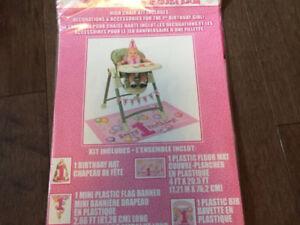 First Birthday Highchair Kit