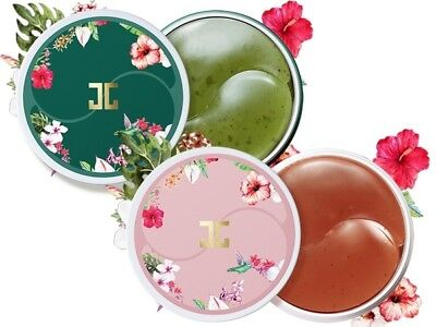 JayJun Roselle Tea/ Green Tea Eye Gel Patch Eye Mask 60pcs Korean Cosmetics NEW