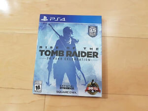 Brand new Rise Of the Tomb Raider Ps4