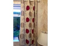 Dunhelm Curtains Set Of 3 Pairs