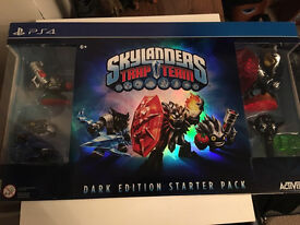 Skylanders Trap Team Dark Edition (PS4) RARE ONO