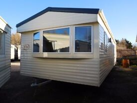 FULLY CENTRAL HEATED & DOUBLE GLAZED ABI VISTA PLATINUM 28 FOOT X 12 FOOT X 2 BEDROOMS 2011 MODEL