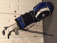 QUALITY GOLF BAG AND CLUBS - EXCELLENT CONDITION