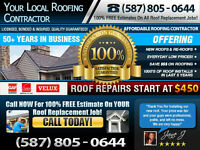 ► Honest Roofers -- 100% FREE Estimates - Call Us Today