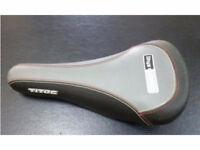 Lightweight saddle Titec Ithys Amore seat, road, ATB, MTB, BMX, Charge Spoon tough bike bicycle