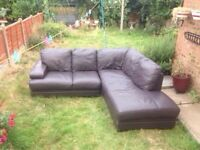 Leather corner can be delivered