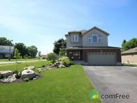 beautiful 2 storey home on a large corner lot