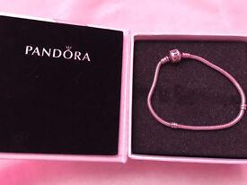 "Genuine pandora bracelet 19"""